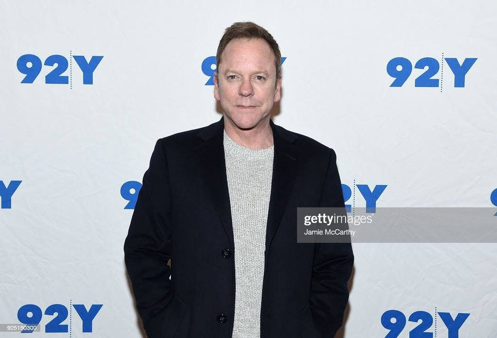 Kiefer Sutherland attends the 92nd Street Y Presents: 'Designated Survivor' Talk And Preview Screening at Kaufman Concert Hall on February 27, 2018 in New York City.