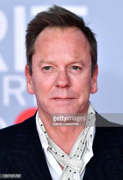 Kiefer Sutherland attends The BRIT Awards 2020 at The O2 Arena on February 18, 2020 in London, England.