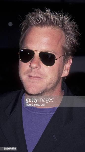 Kiefer Sutherland attends the premiere of '12 Angry Men' on July 11 1997 at the Academy Theater in Beverly Hills California