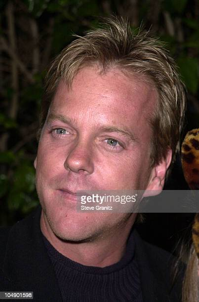 Kiefer Sutherland Daughter Sarah during Josie And The Pussycats Premiere at Galaxy Theatre in Hollywood California United States