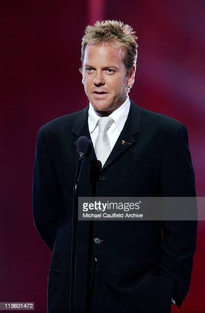 Kiefer Sutherland during 2003 ESPY Awards Show and Audience at Kodak Theatre in Hollywood California United States