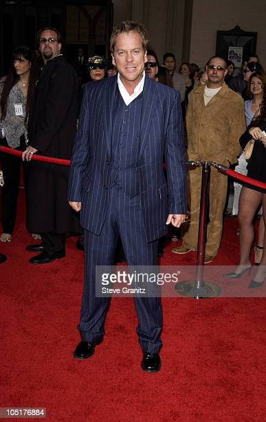 Kiefer Sutherland during 31st Annual American Music Awards Arrivals at Shrine Auditorium in Los Angeles California United States