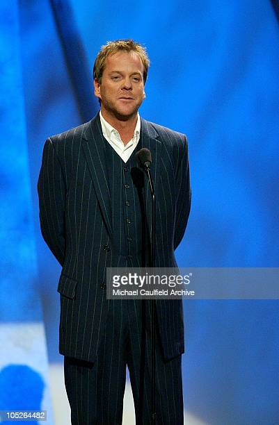 Kiefer Sutherland during 31st Annual American Music Awards Show at The Shrine Theater in Los Angeles California United States