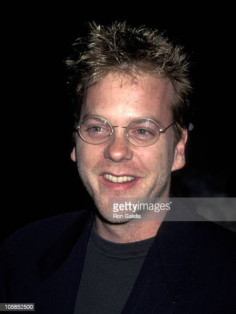 Kiefer Sutherland during Eye For An Eye Los Angeles Premiere Benefiting Natural Neurofibromatosis at Paramount Studios in Hollywood CA United States
