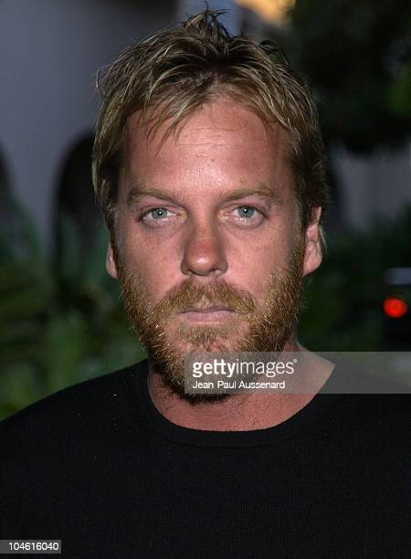 Kiefer Sutherland during Fox Broadcasting Summer 2002 Press Tour Day 1 at Ritz Carlton Hotel in Pasadena California United States