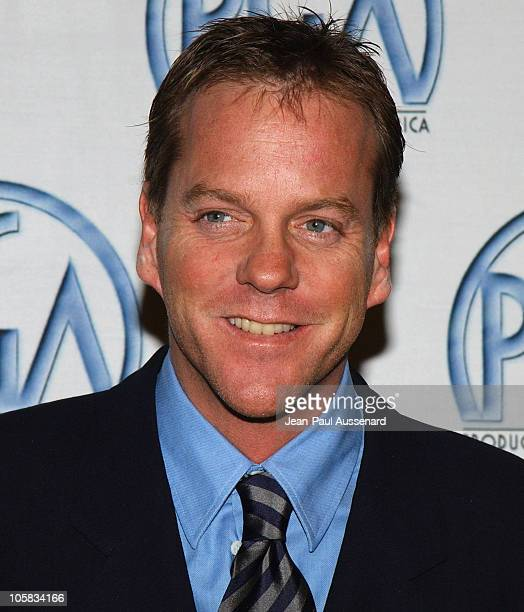 Kiefer Sutherland during The 15th Annual Producers Guild Awards Arrivals at Century Plaza Hotel in Century City California United States
