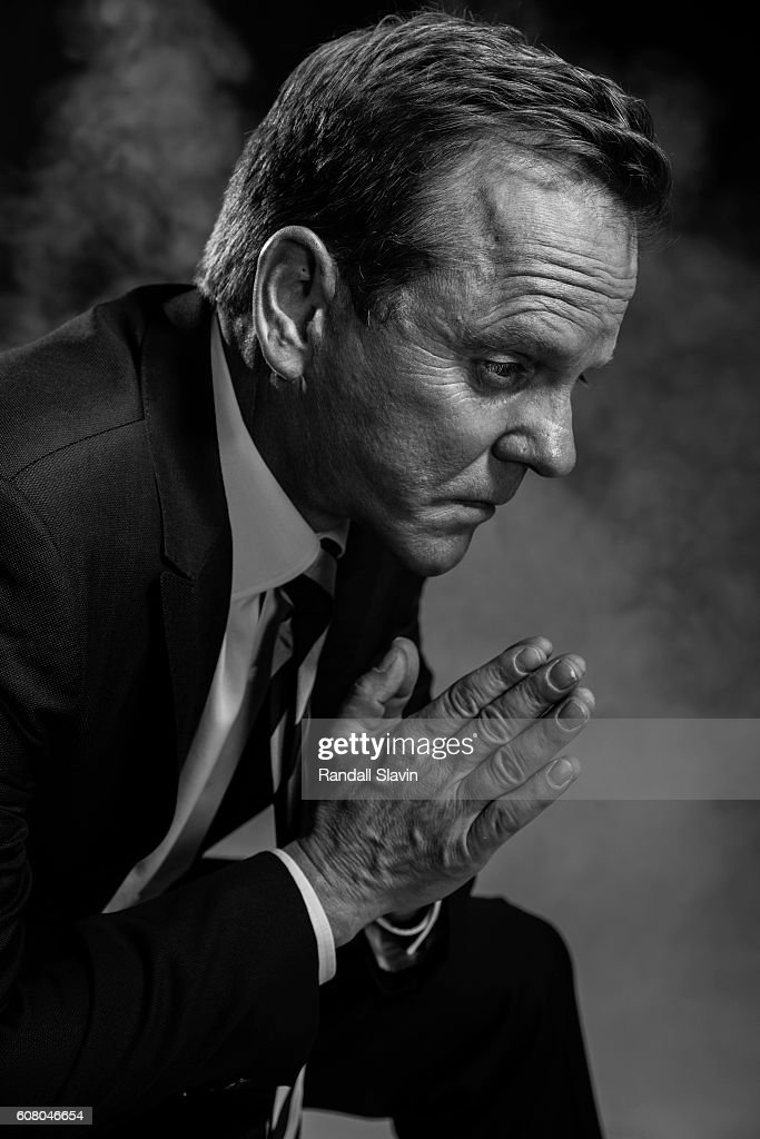 Kiefer Sutherland is photographed for Ad Week on August 3, 2016 in Los Angeles, California.