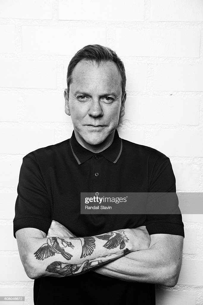Kiefer Sutherland, Ad Week, September 19, 2016