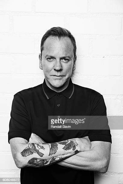 Kiefer Sutherland is photographed for Ad Week on August 3 2016 in Los Angeles California