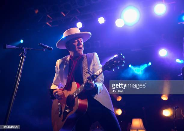 Kiefer Sutherland performs at Electric Ballroom on June 21 2018 in London England