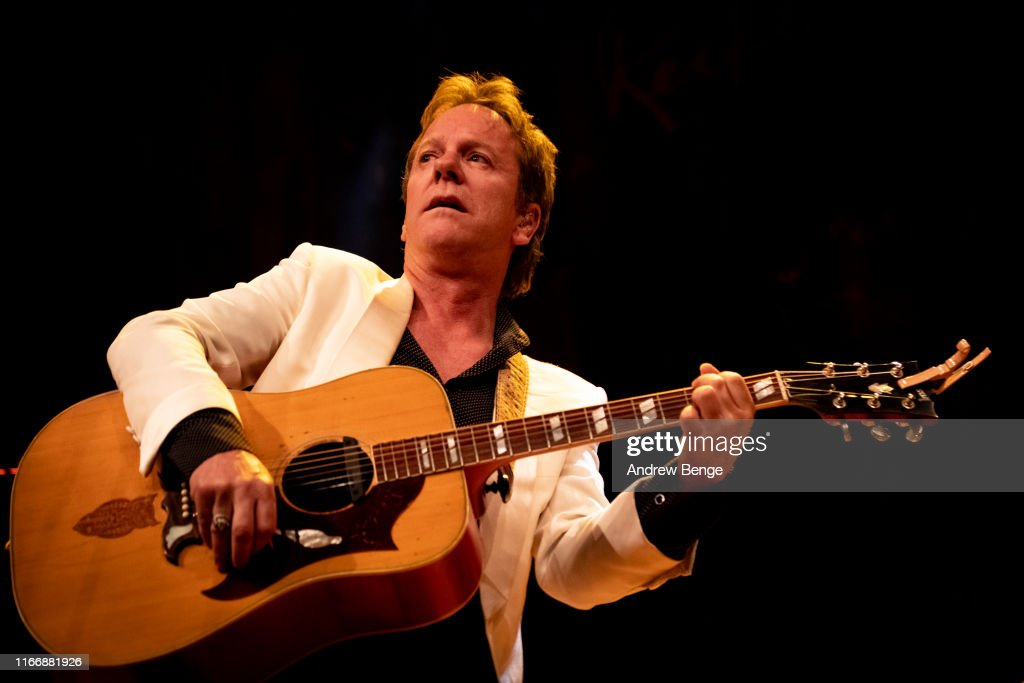Kiefer Sutherland Performs At The Barbican, York : News Photo