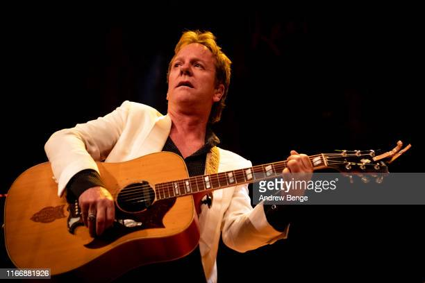 Kiefer Sutherland performs on stage at The Barbican on August 08 2019 in York England