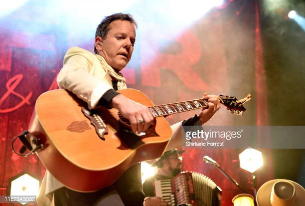Kiefer Sutherland performs on stage at The O2 Ritz Manchester on October 20, 2019 in Manchester, England.