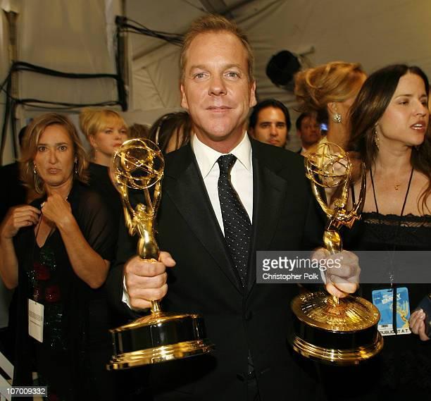 "Kiefer Sutherland, winner Outstanding Lead Actor in a Drama Series, and Outstanding Drama Series for ""24"""