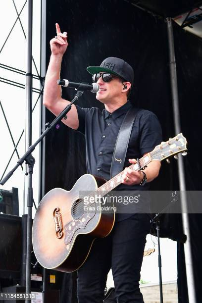 Kiefer Thompson of Thompson Square performs during 2019 CMA Music Festival on June 07 2019 in Nashville Tennessee