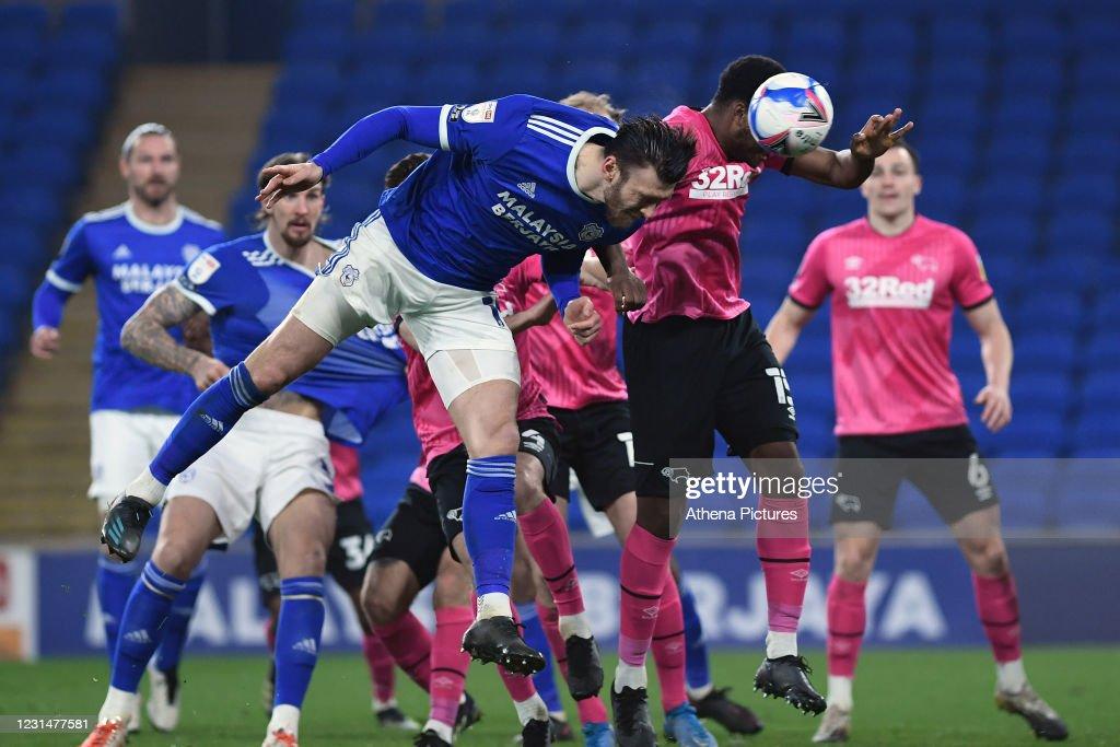 Cardiff City v Derby County - Sky Bet Championship : News Photo
