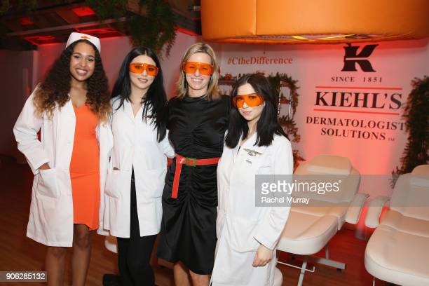Kiehl's Brand President Megan Grant at Kiehl's Turns Up the PotentC with the NEW PowerfulStrength LineReducing Concentrate on January 17 2018 in West...