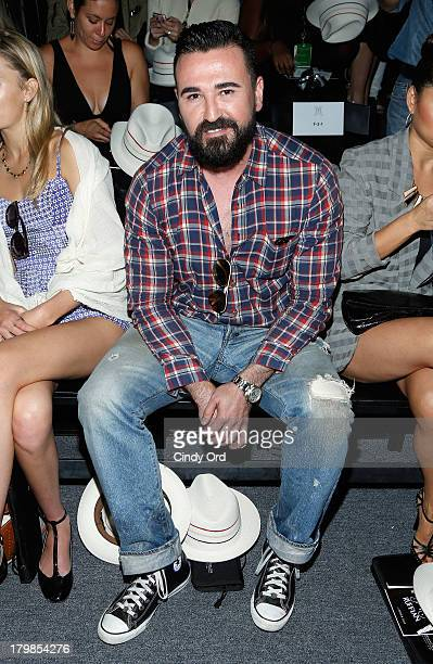 Kiehl's CEO Chris Salgardo attends the Ruffian fashion show during MercedesBenz Fashion Week Spring 2014 at The Studio at Lincoln Center on September...