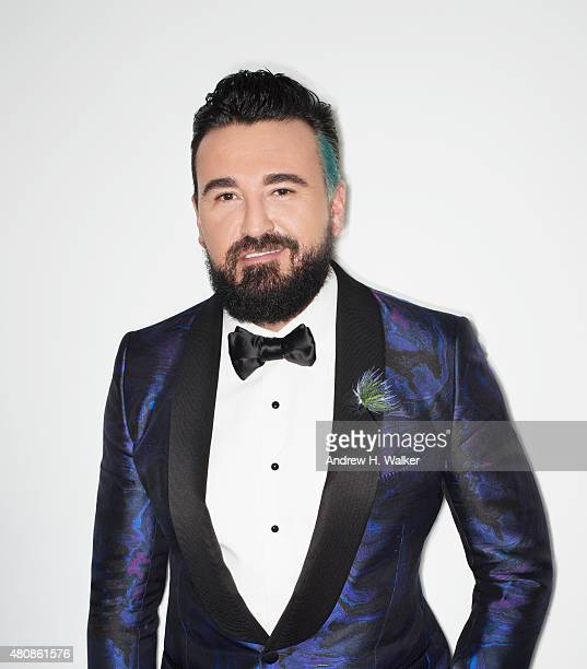 Kiehl's CEO Chris Salgardo poses for a portrait at the 2015 amfAR Inspiration Gala New York at Spring Studios on June 16 2015 in New York City