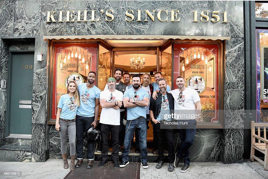 Kiehl's National LifeRide For amfAR Celebrates At NYC Flagship Store