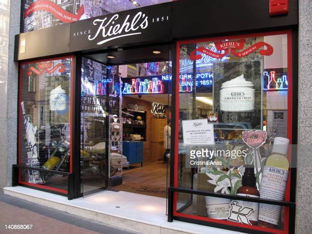 Kiehls store in the Salamanca district of Madrid Kiehls is a cosmetics company with international presence that arises as a pharmacy in the East...