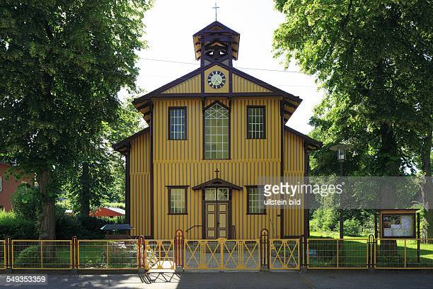Kiel Friedrichsort Bethlehem Church former garrison church wooden church evangelic church