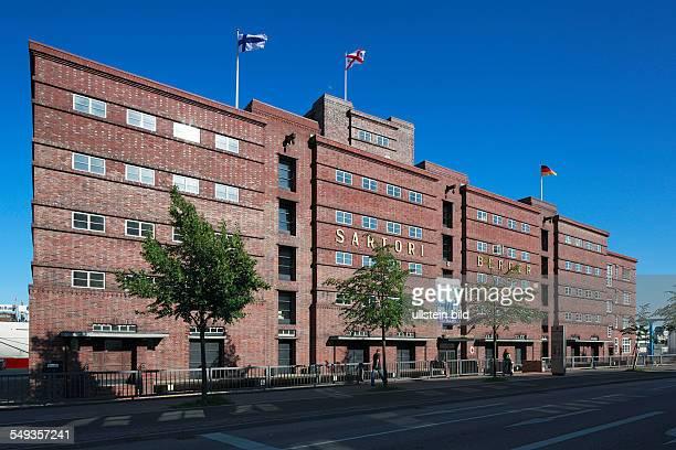 Kiel harbour Sartori and Berger ocean carrier administration building brick building