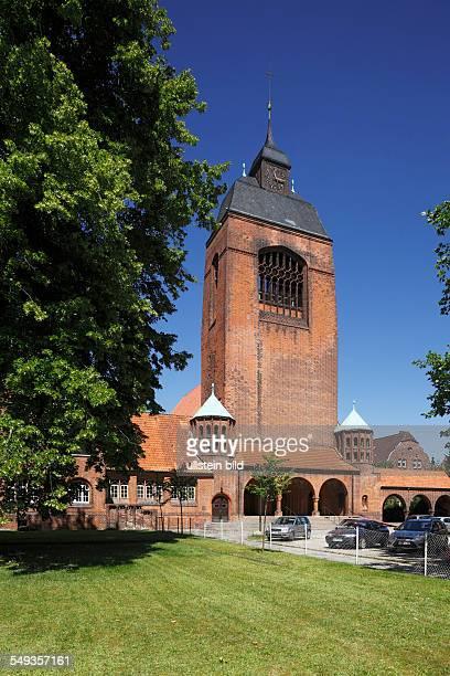 Kiel KielWik Petrus Church evangelic church garrison church brick building art nouveau