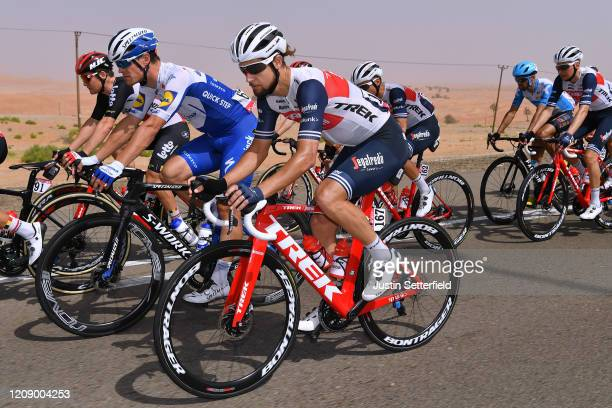 Kiel Reijnen of The United States and Team Trek - Segafredo / Peloton / during the 6th UAE Tour 2020, Stage 5 a 162km stage from Al Ain to Jebel...