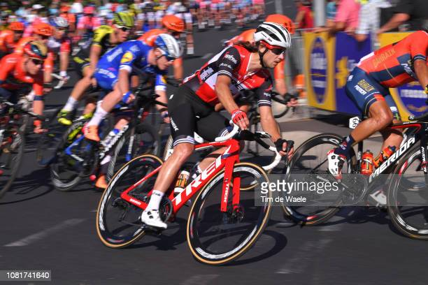 Kiel Reijnen of The United States and Team Trek-Segafredo / during the 2019 Tour Down Under Classic a 1 hour + 1 lap of 1,7km race from Adelaide to...