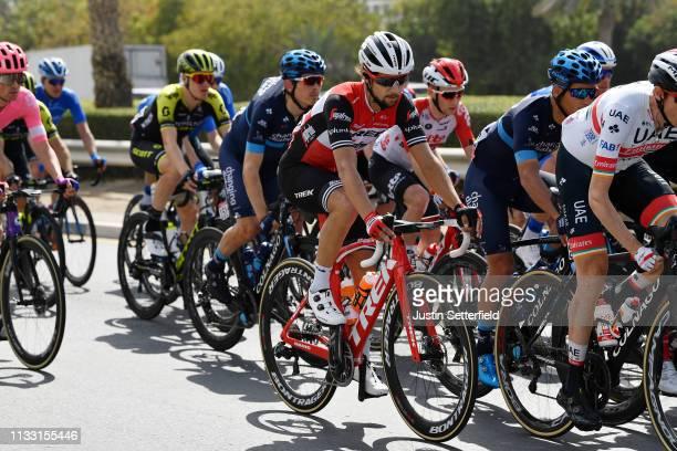 Kiel Reijnen of The United States and Team Trek-Segafredo / during the 5th UAE Tour 2019, Stage 7 a 145km stage from Dubai Safari Park to Dubai City...