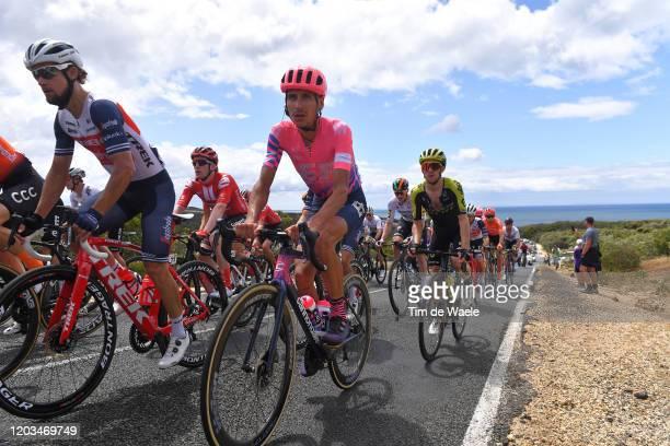 Kiel Reijnen of The United States and Team Trek-Segafredo / Lachlan Morton of Australia Team EF Pro Cycling / during the 6th Cadel Evans Great Ocean...