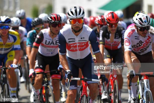 Kiel Reijnen of United States and Team Trek - Segafredo during the 42nd Tour de Wallonie 2021, Stage 4 206km stage from Neufchâteau to Fleurus /...