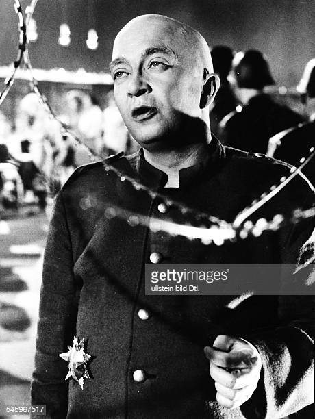 Kieling Wolfgang *Schauspieler D in dem Film Der Belagerungszustand nach einer Vorlage von Albert Camus 1963