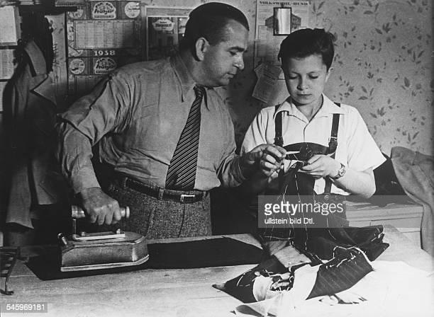 Kieling Wolfgang *Schauspieler D mit seinem Vater 1938
