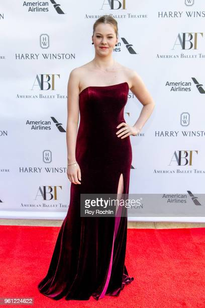 Kiely Groenewegen attends the 2018 American Ballet Theatre Spring Gala at The Metropolitan Opera House on May 21 2018 in New York City