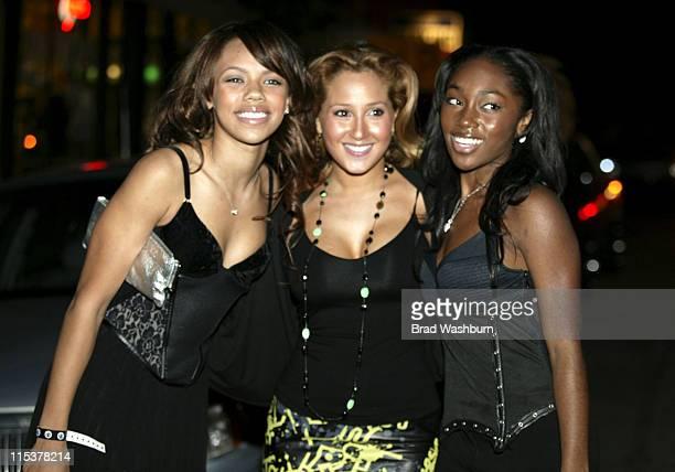 Kiely Williams Adrienne Bailon and Jessica Benson of '3LW'