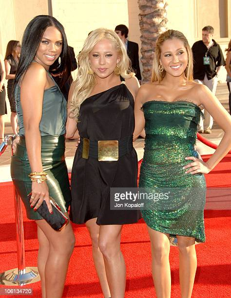 Kiely Williams Sabrina Bryan and Adrienne Bailon of the Cheetah Girls