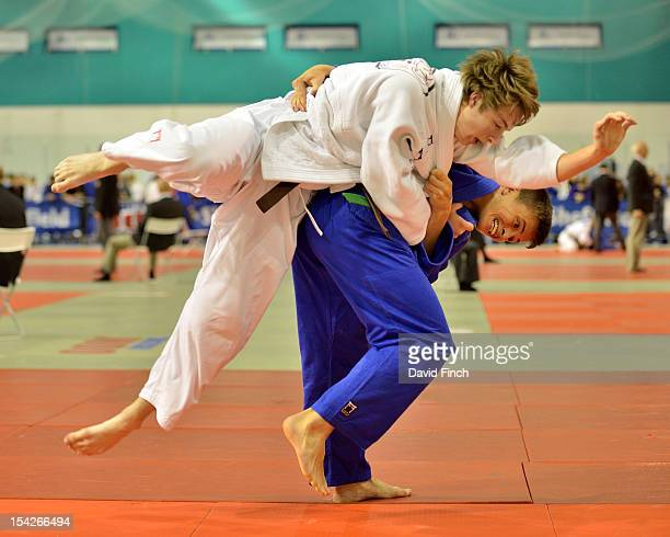 Kier Hetherington defeated Joseph Fowler from Kendal with this wazari throw in extra time in the 66kgs repercharge at the British Cadet and Pre-Cadet...