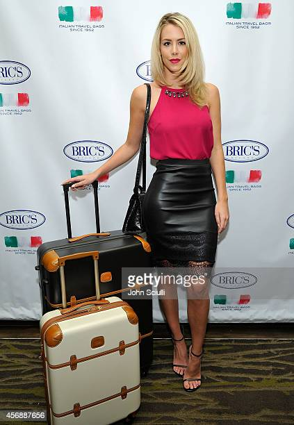 Kier Mellour attends Tracy Paul Company presenting BRIC'S Luggage at The Four Seasons on October 8 2014 in Los Angeles California