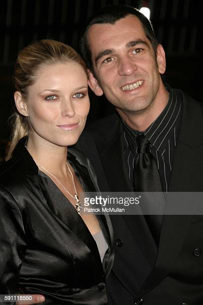 Kiera Chaplin and Ale de Basseville attend Be Cool Worldwide Premiere at Graumans Chinese Theatre on February 14 2005 in Hollywood California