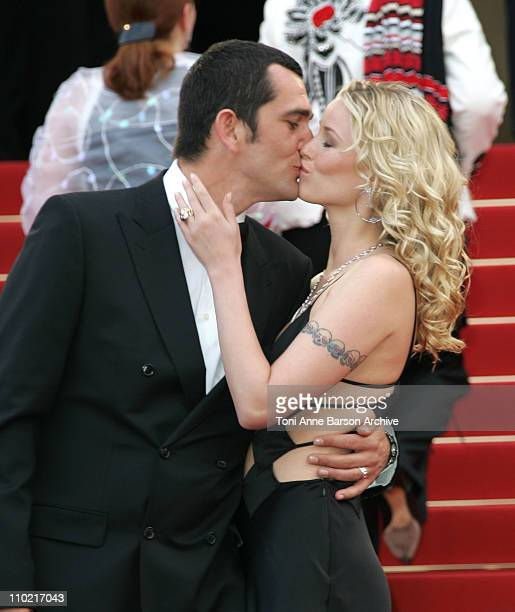 Kiera Chaplin and guest during 2005 Cannes Film Festival Match Point Premiere in Cannes France