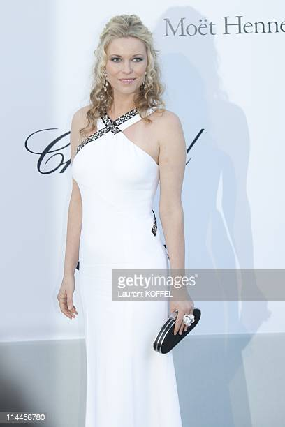 Kiera Chaplin attends amfAR's Cinema Against AIDS Gala during the 64th Annual Cannes Film Festival at Hotel Du Cap on May 19 2011 in Antibes France