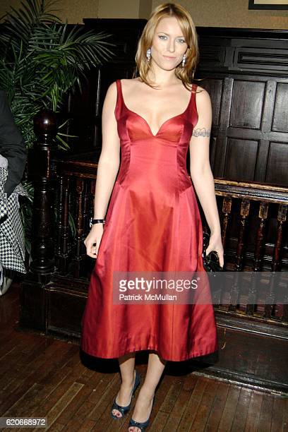 Kiera Chaplin attends Model and Actress Kiera Chaplin Signed by Maggie Norris Couture as Official Spokesmodel at The Plumm on January 31 2008 in New...
