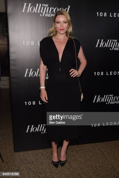 Kiera Chaplin attends The Hollywood Reporter's Most Powerful People In Media 2018 at The Pool on April 12 2018 in New York City