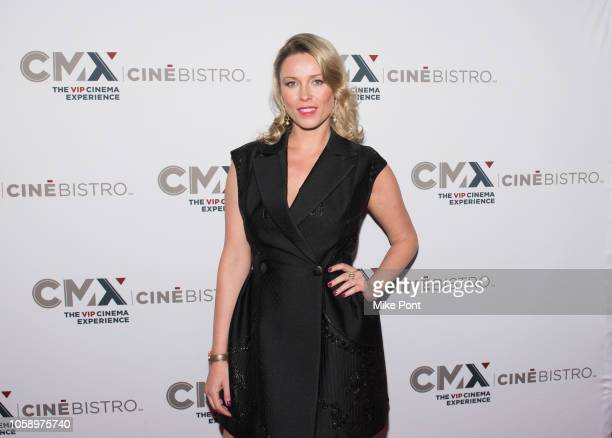 "Kiera Chaplin attends the opening of CMX CineBistro with special screenings of ""BlacKkKlansman,"" ""City Lights,"" & ""Pretty Baby"" at CMX CineBistro on..."
