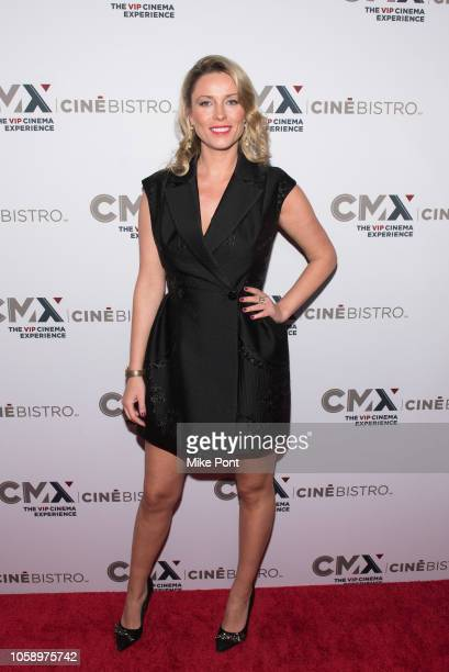 Kiera Chaplin attends the opening of CMX CineBistro with special screenings of BlacKkKlansman City Lights Pretty Baby at CMX CineBistro on November 7...