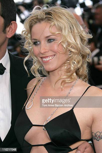 Kiera Chaplin during 2005 Cannes Film Festival Match Point Premiere in Cannes France