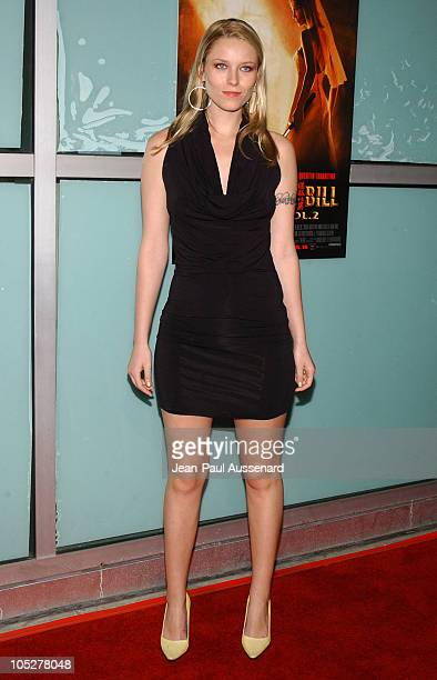Kiera Chaplin during Kill Bill Vol 2 World Premiere Arrivals at ArcLight Cinerama Dome in Hollywood California United States