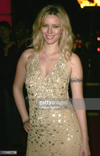Kiera Chaplin during The United Fashion Forum Review Odabash MacDonald Launch Arrivals at Victoria Albert Museum in London Great Britain